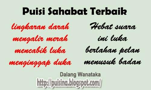 Puisi Sahabat Terbaik Menghilang Edisi Arjuna Linglung Puisina