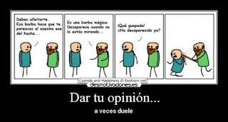 es tu opinión
