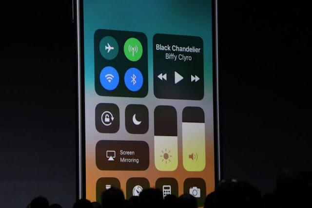 كيفية استخدام مركز التحكم Control Center في iOS 11