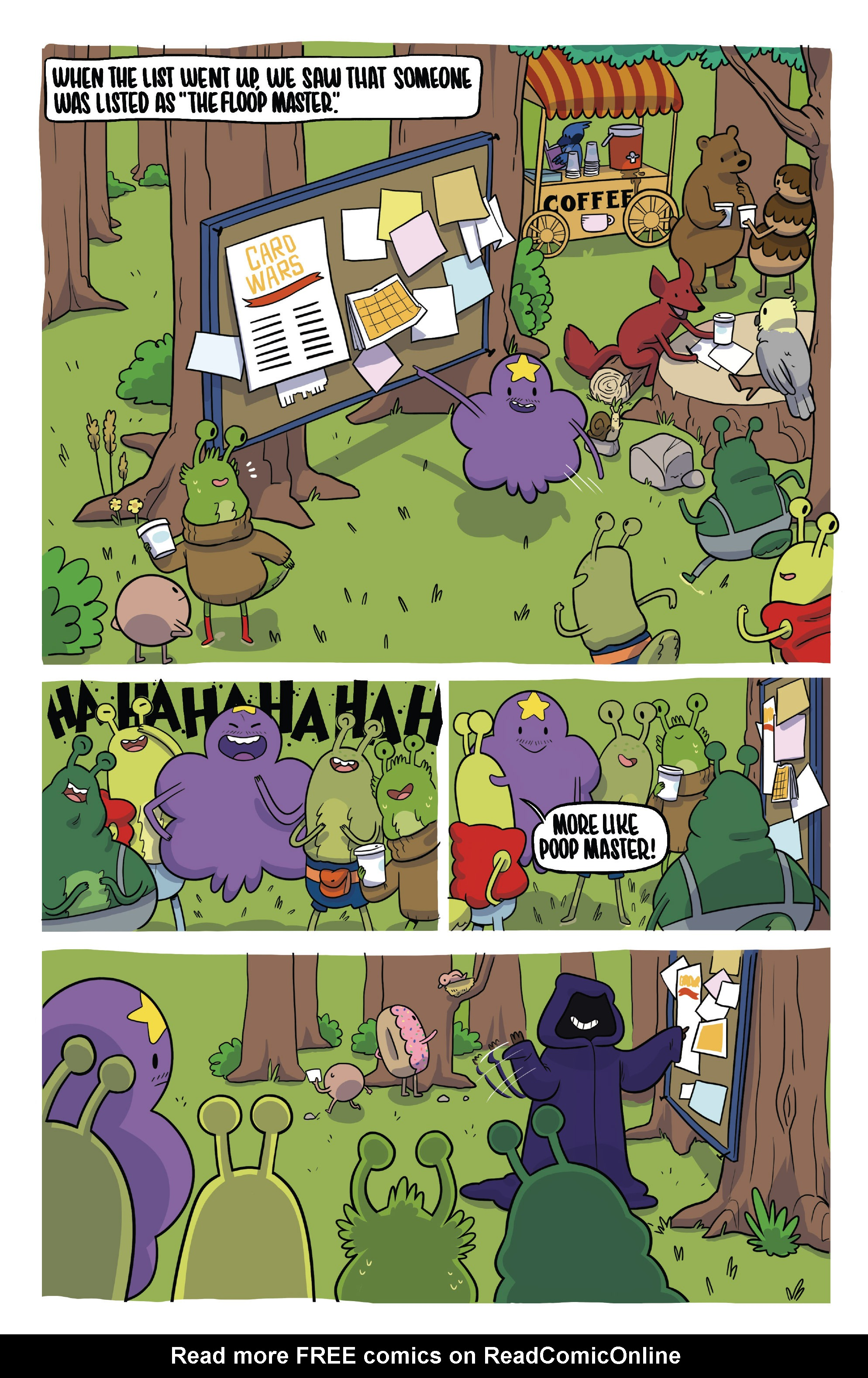 Read online Adventure Time Fionna and Cake Card Wars comic -  Issue #2 - 4