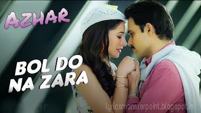 Bol do na zara song