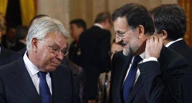 Felipe González informó a Rajoy de la conspiración del PSOE contra Pedro Sánchez