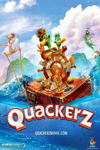 Quackerz [2016] [DVDR] [NTSC] [CUSTOM HD] [Latino]