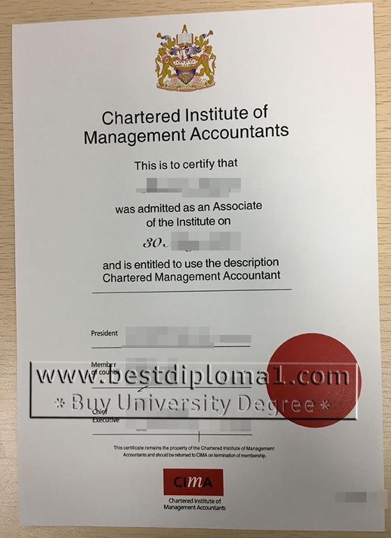 CIMA certificate in Australian