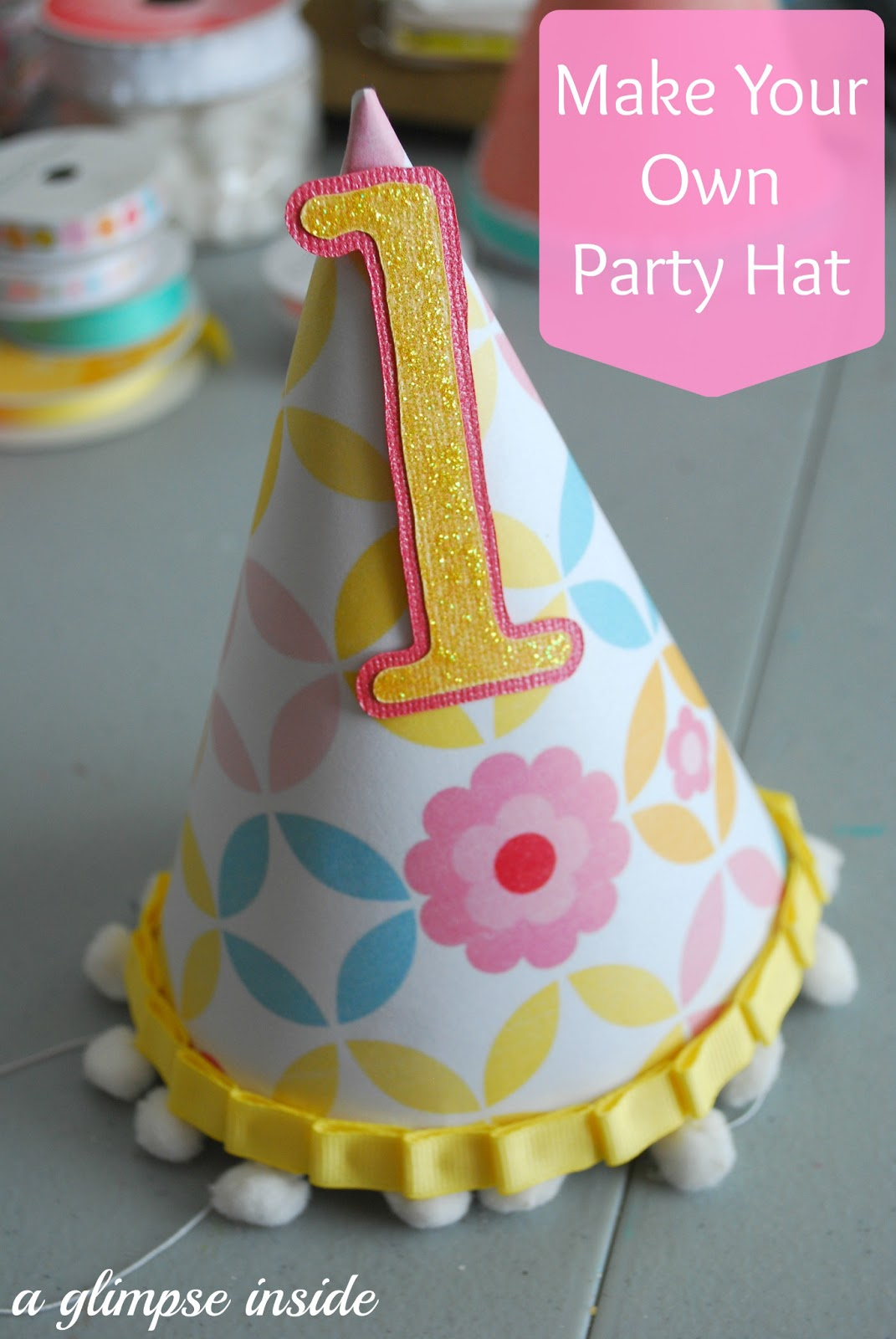 Create Your Own Party Hats