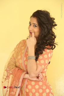 Telugu Actress Santoshi Sharma Latest Stills in Salwar Kameez at HBD Movie Teaser Launch  0005.JPG