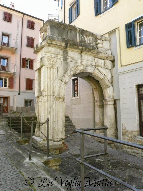 Arco di Riccardo Cittavecchia Trieste