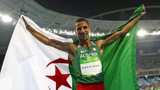 نهائي سباق 800 متر..مخلوفي يهدي الجزائر الميدالية الفضية.