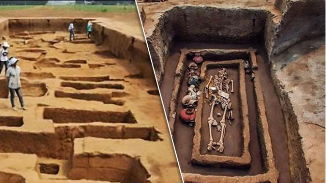 Giant Skeletons From China Continue To Baffles Researchers