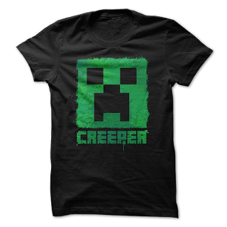 Tshirt+minecraft+gift idea+cool+merry crishtmas+mug
