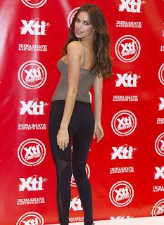 Irina Shayk in a super tight hot spandex pants making me