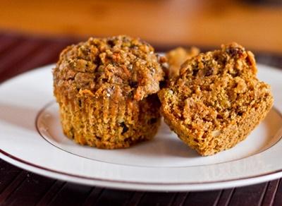 Vegan Carrot Spice Muffins