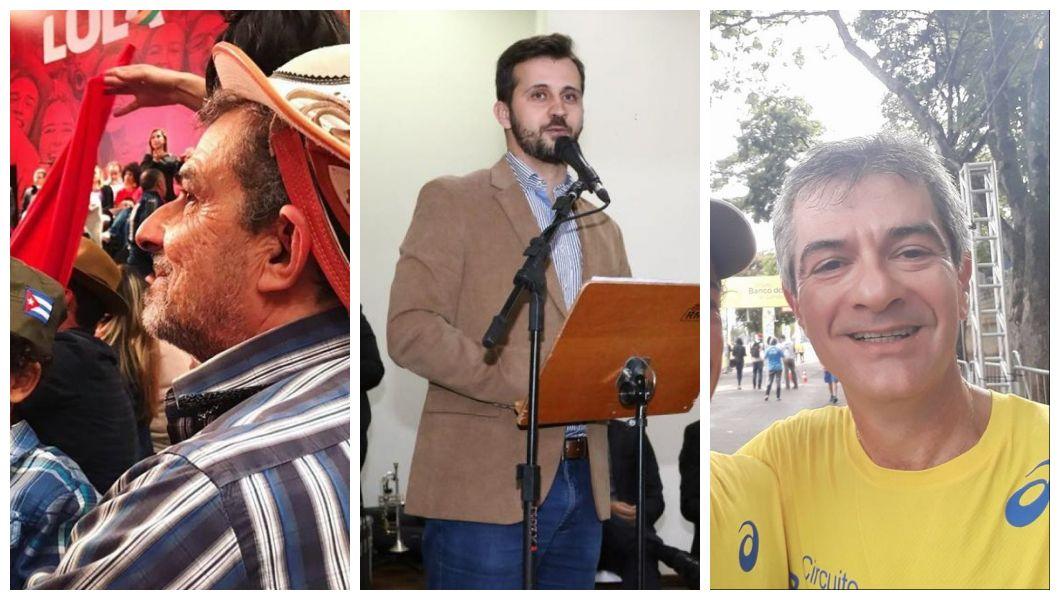 Carlinhos lidera; Álvaro e Fausto dividem a segunda colocação