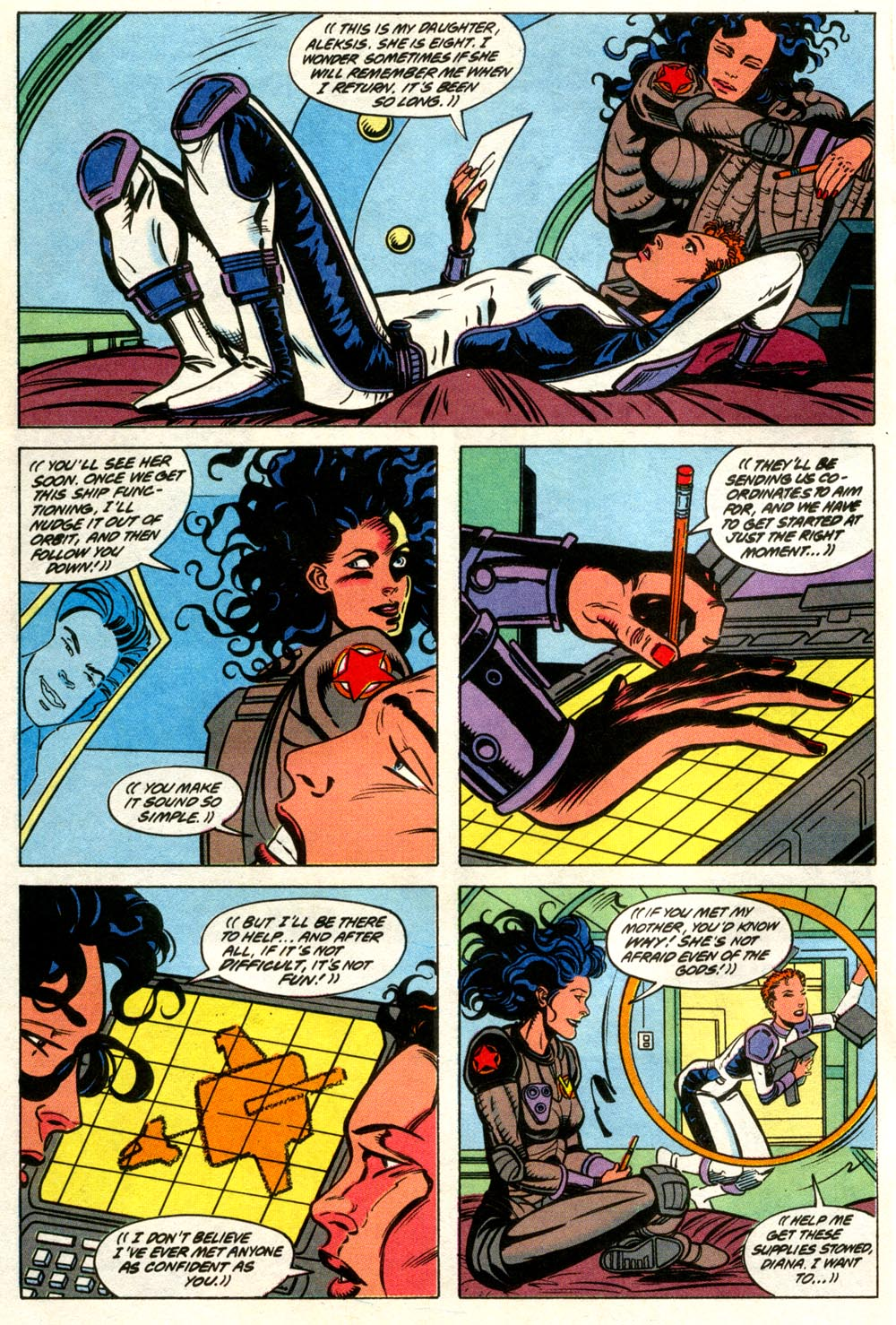 Read online Wonder Woman (1987) comic -  Issue #66 - 15