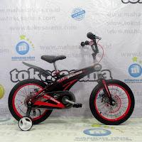 Sepeda Anak Element Magnesium BMX Rangka Aloi One Piece Crank Disc Brake 4-7 Tahun