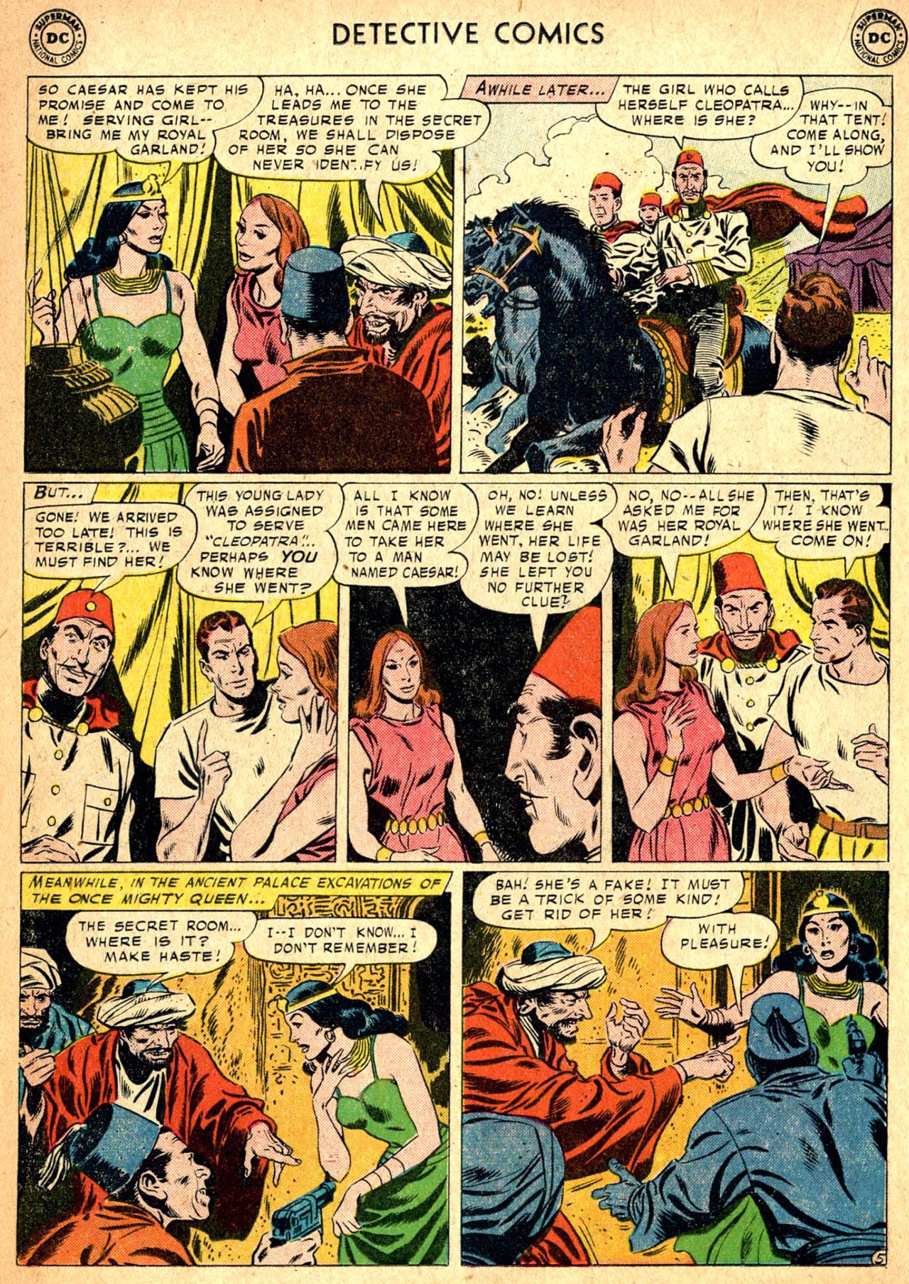Read online Detective Comics (1937) comic -  Issue #257 - 22