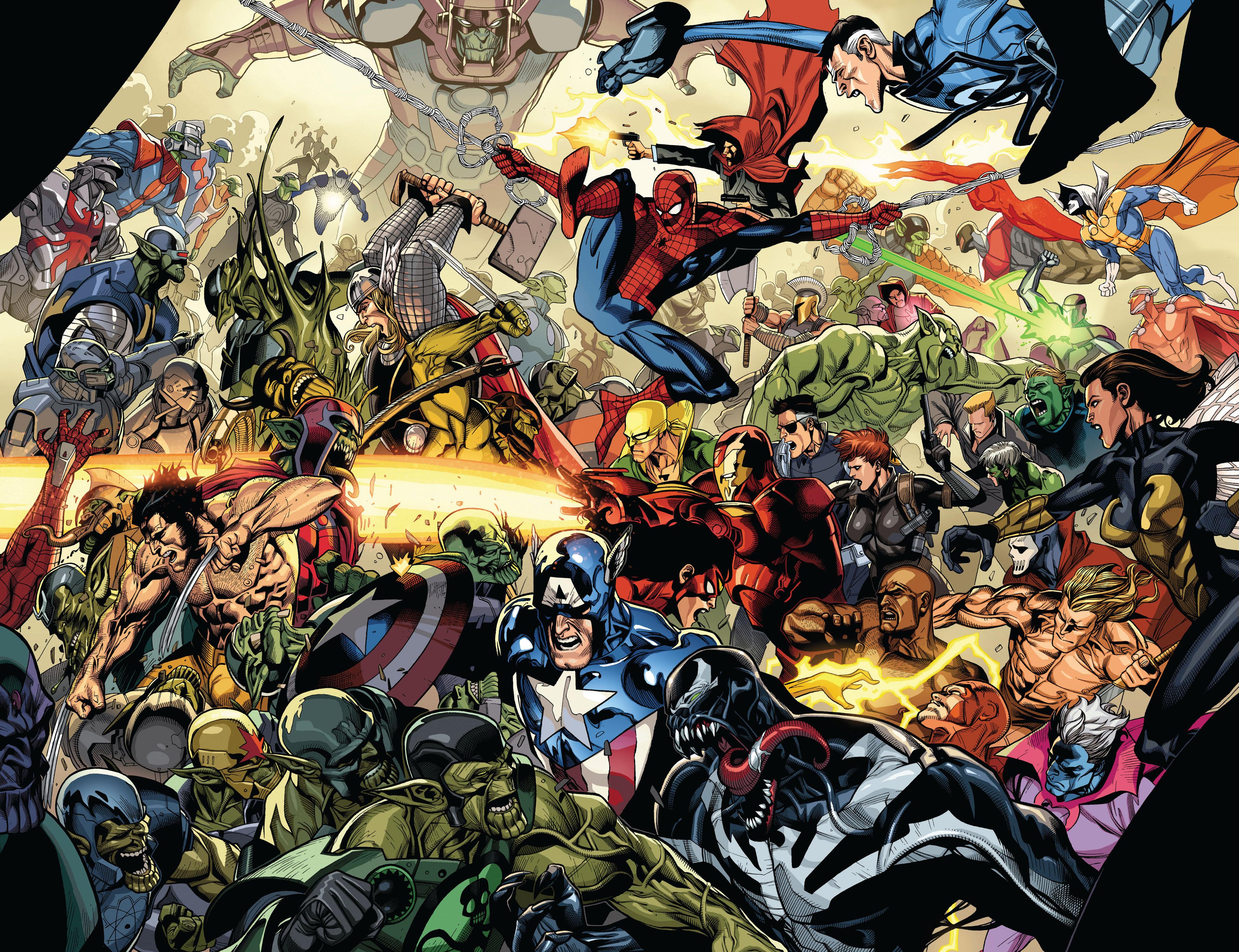 Read online Secret Invasion comic -  Issue #6 - 21