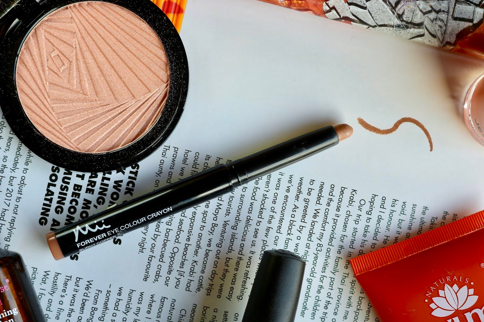 Mii Cosmetics Forever Eye Colour Crayon in Burnt Copper