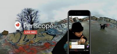 Video dirette Twitter a 360 gradi per iOS e Android