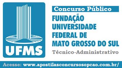 Apostila Concurso Universidade Federal de Mato Grosso do Sul  - UFMS 2016