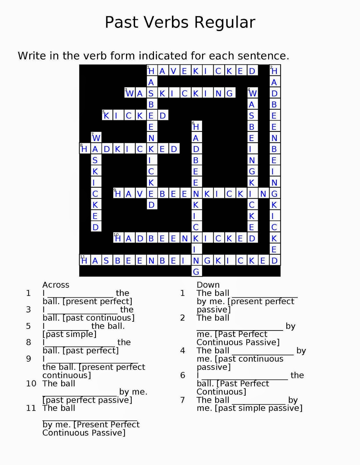 Random Book And Movie Reviews Crossword Puzzles For