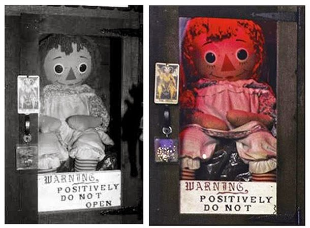 bonecos assombrados, fantasmas, terror, medo