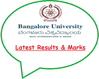 BU Bangalore Results June 2020