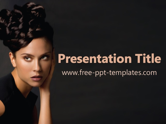 Hair Care Ppt Template