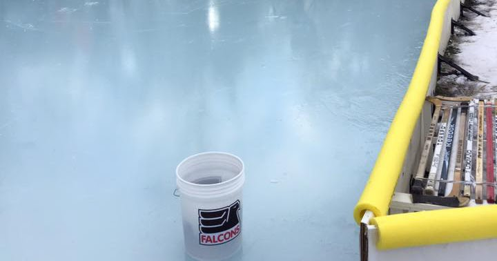 Nicerink Backyard Ice Rink Kit, Build Your Own Hockey Rink ...