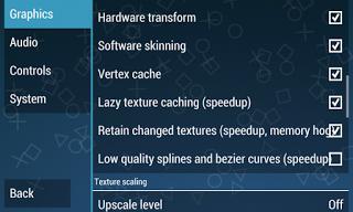 cara setting emulator PS2 / PSP 3