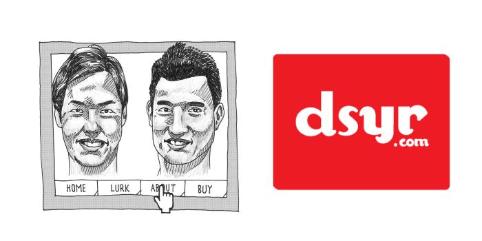 DSYR founders - Ben & Kian Howe