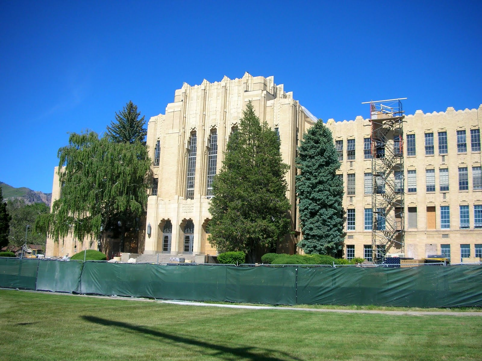 100 historic buildings in utah 12 ogden high school