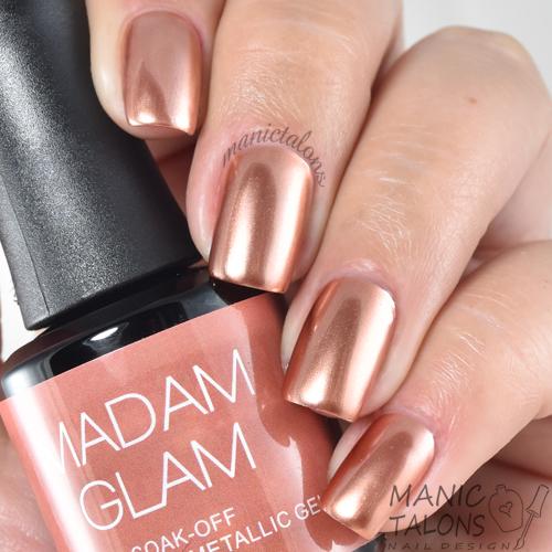 Madam Glam Metallic Gel Play Date Swatch