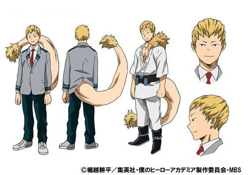 โอจิโระ มาชิราโอะ (Ojiro Mashirao) @ My Hero Academia: Boku no Hero Academia มายฮีโร่ อคาเดเมีย