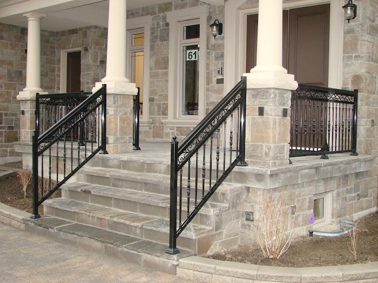 Porch Railings In Etobicoke Vaughan Maple Ontario