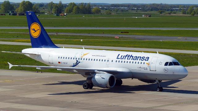 ルフトハンザ エアバスA319