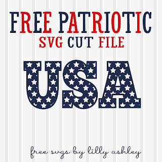 Free Patriotic SVG cutting file