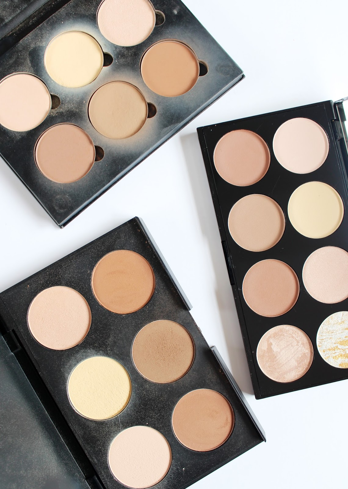 Makeup Revolution Ultra Contour Palette Review Swatches Cassandramyee