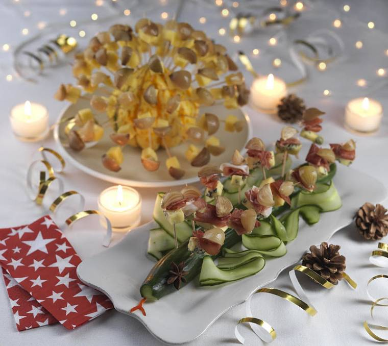 Christmas Canapè Recipes with Garner's Pickled Onions