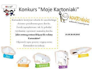 http://mamadoszescianu.blogspot.com/2016/06/konkurs-moje-kartoniaki.html