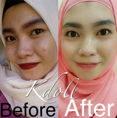 testimoni k doll beauty skin