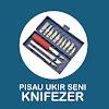 Knifezer Set Pisau Ukir Seni 13 in 1 Crafting Art Knife with 3 Handle - A-003 - Silver