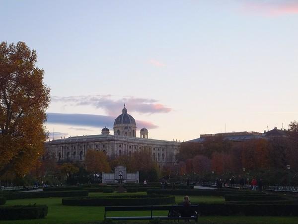 Vienne Vienna Wien Volksgarten