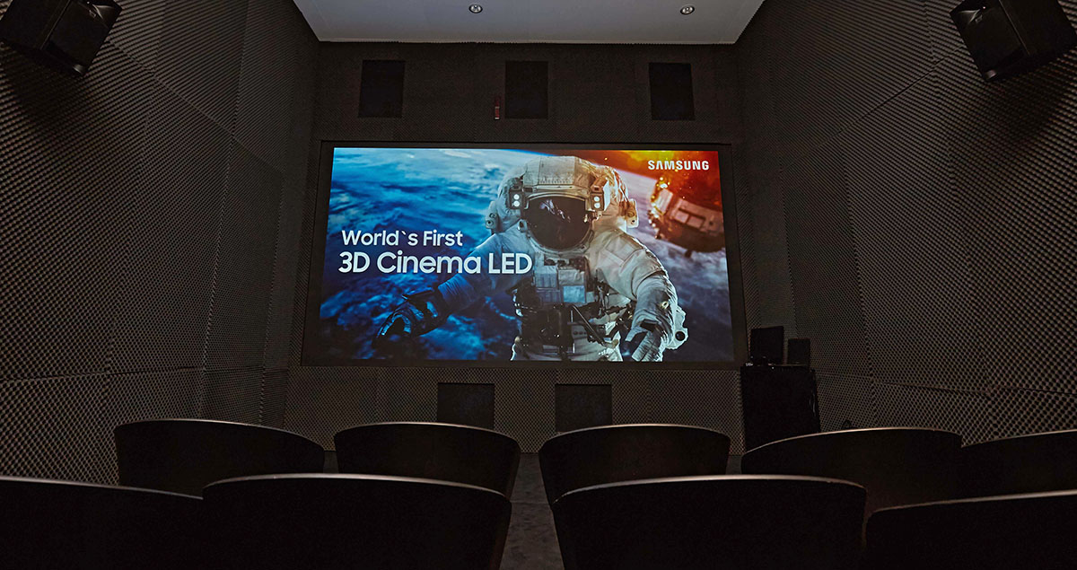 Samsung 3D Cinema