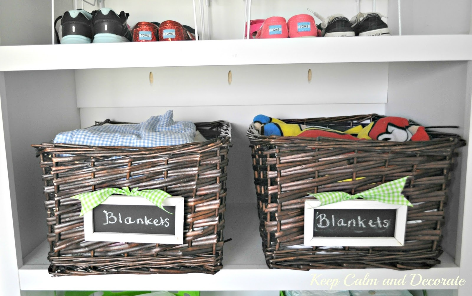 Keep Calm And Decorate Organizing A Toddler S Closet