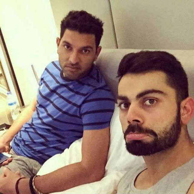Virat Kohli And Yuvraj Singh