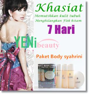 Produk paket body Syahrini