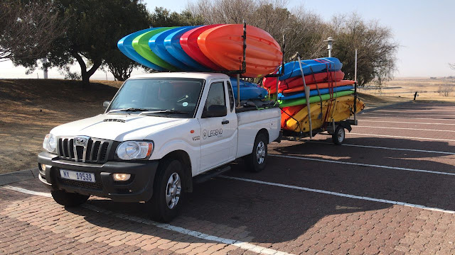 Another Legend Kayaks delivery en-route to the Western Cape!