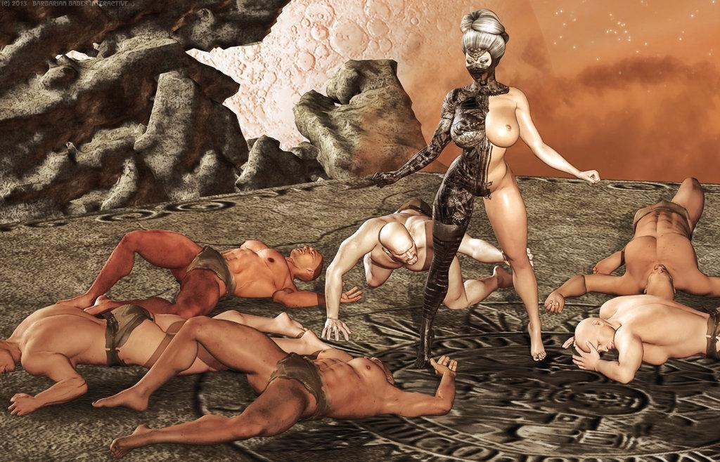 Амазонки трахают мужчин 1