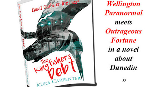 "News: Kiwi Urban Fantasy ""The Kingfisher's Debt"" on Pre-order"